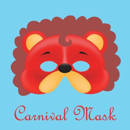 Carnival mask illustration. Ilustração