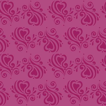love pattern Ilustração
