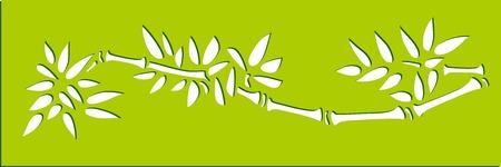 bamboo stencils art