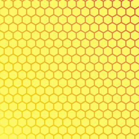 honeycombs stencil art