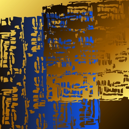 Vector background of abstract 3D objects with a variety of surreal objects in a space with transparent shadows.The background offers to experience and feel a sense of perspective and depth.