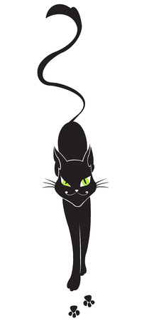 artful: Artful cat Illustration