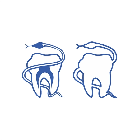 medical equipment: Teeth, dentistry medical line icons. Instrument dentistry medical, dentistry medical stomatology, equipment dentistry medical, dental protection. Vector illustration Illustration