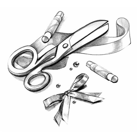 highly: Vector collection of highly detailed hand drawn sewing. Illustration