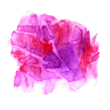 Abstract background with pink element. Watercolor
