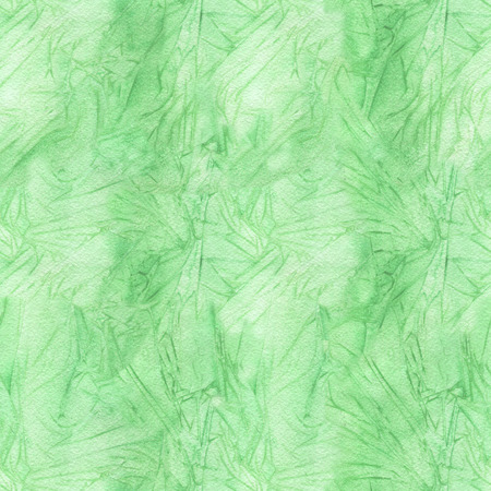 Green paint watercolor seamless pattern. Texture background Stock fotó