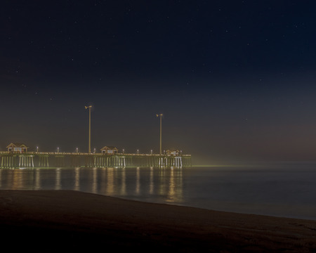 This photo of Jennettes Pier was taken in the Early morning In Nags Head North Carolina, at the Outer Banks
