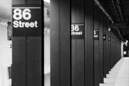 Subway in New york city Stockfoto
