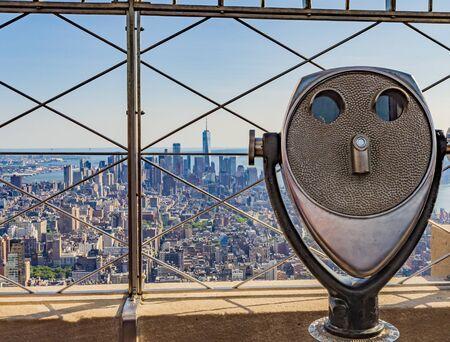 Las Sky Lines de la ciudad de Nueva York son algunas de las mejores vistas de la línea del cielo de la ciudad del mundo.