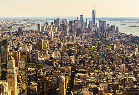 New York City Sky Lines are some of the best city sky line views in the world.