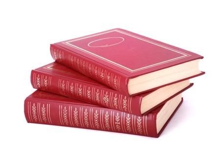 batch: Lote de 3 libros rojos volumen 1