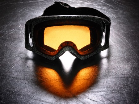 snowboard mask dramatic lighting photo