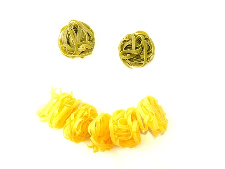 pasta smile 1  Stock Photo - 4321030