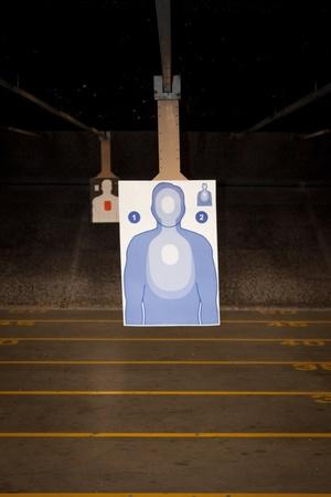 Target Practice at the Gun Range Reklamní fotografie