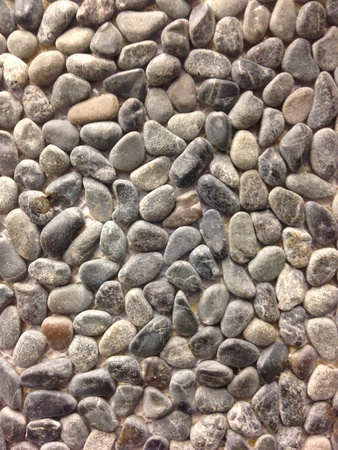 Multiple stones side by side forming an interesting texture.