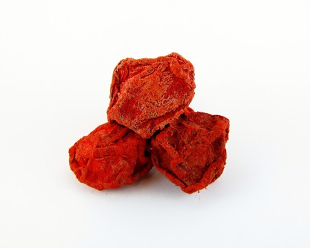 Li hing mui is salty dried plum. It is very popular in Hawaiian and Asian markets.   It has a very unique salty, sweet and sour taste.