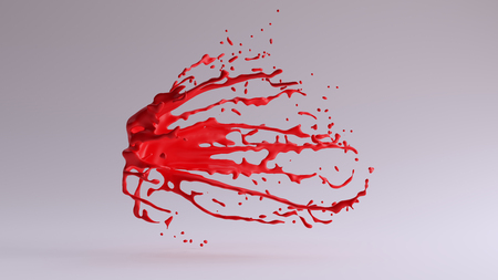 Paint Splash Red