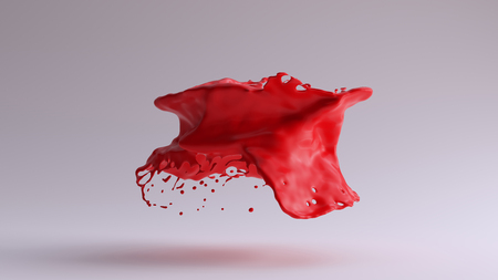 Paint Splash Red