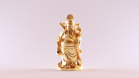 Chinese God of Wealth  scan is from stronghero thingiverse.comthing:2206676 - (CC Attribution)
