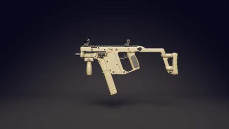 Sub Machine Gun Stock Photo