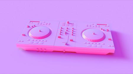 Pink DJ Decks
