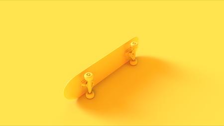 Yellow Skateboard