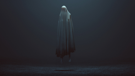 Floating Evil Spirit in a foggy void Reklamní fotografie
