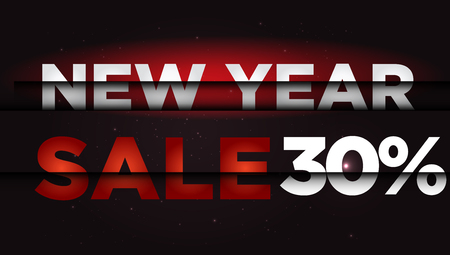 New Year Sale . Big winter sale,  30 percent