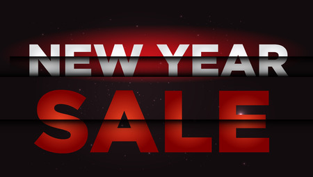 New Year Sale . Big winter sale .