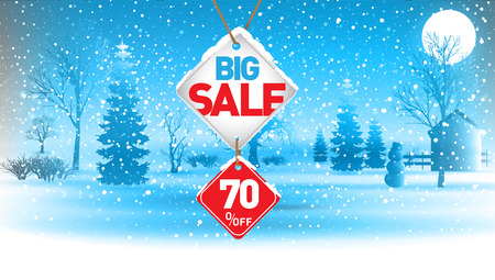 Big winter sale, 70  percent.