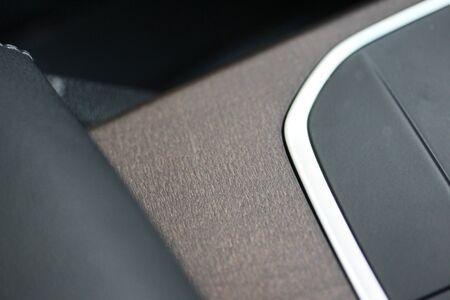 Abstract vehicle dashboard