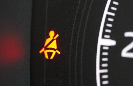 Fasten seat belt icon Foto de archivo