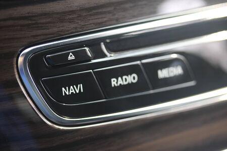 Vehicle Navigation button