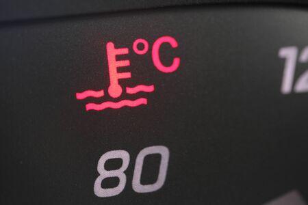 Vehicle coolant light