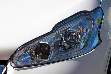 Modern vehicle headlight cluster