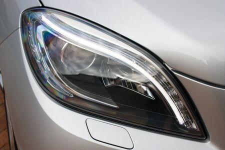 Luxury vehicle headlight