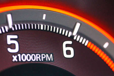 Vehicle rpm gauge macro