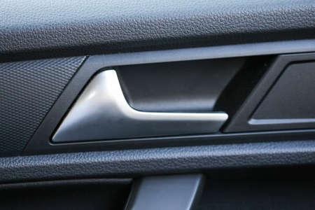 New car interior door opener Banque d'images