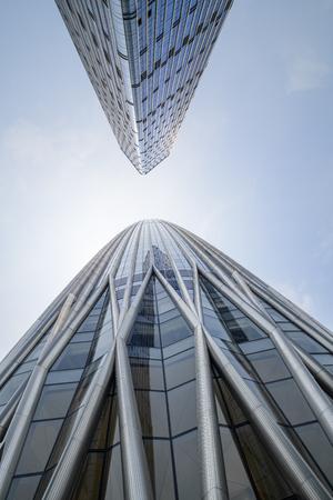 Rascacielos de Shenzhen Foto de archivo