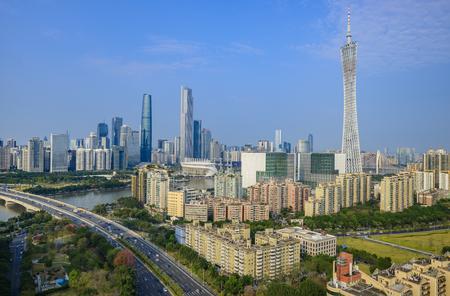 China Guangzhou City Skyline