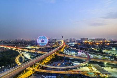 Guangzhou traffic flow