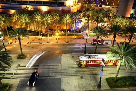 Street car in New Orleans Stock fotó