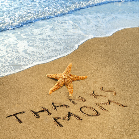 short phrase: Quotes on the beach  for Mothers Day