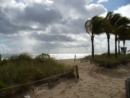 Ft Lauderdale Beach Reklamní fotografie