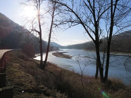 Shining River Stock fotó