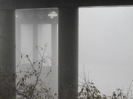 dimentional: Foggy bridge-2