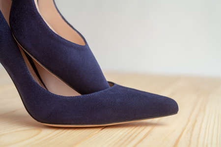 Women's shoes close up. High fashion. 版權商用圖片