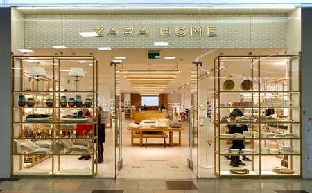 Zara home store. Minsk, Belarus - March 2021