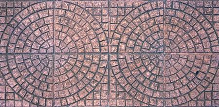 pave: brick footpath