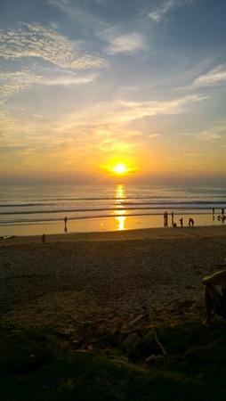 sunset at the Surin beach, Phuket, Thailand photo
